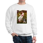 Windflowers-AussieShep (L) Sweatshirt