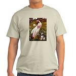 Windflowers-AussieShep (L) Light T-Shirt