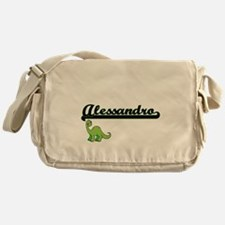 Alessandro Classic Name Design with Messenger Bag