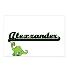 Alexzander Classic Name D Postcards (Package of 8)