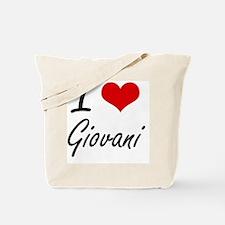 I Love Giovani Tote Bag