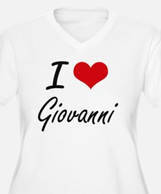 I Love Giovanni Plus Size T-Shirt