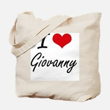 I Love Giovanny Tote Bag