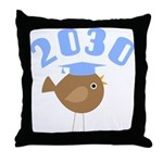 2030 Class Graduate Throw Pillow