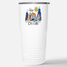Chicago Kids Dark.png Travel Mug