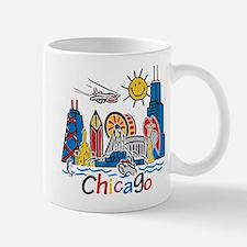 Chicago Kids Dark.png Mugs