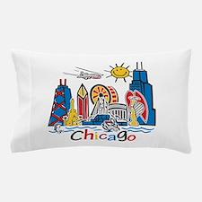 Chicago Kids Dark.png Pillow Case