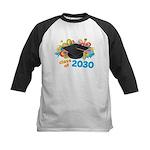 Class Of 2030 Graduation Part Kids Baseball Jersey