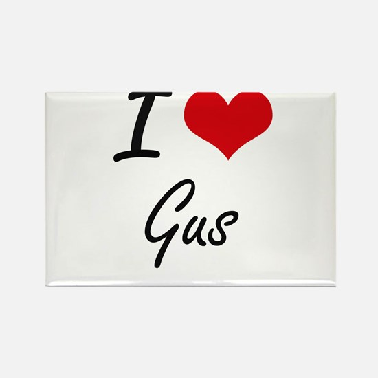 I Love Gus Magnets