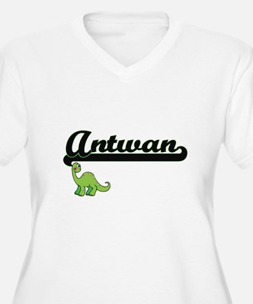 Antwan Classic Name Design with Plus Size T-Shirt