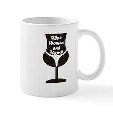 Wine Woman and Thong Mugs