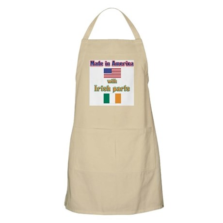 Made in American with Irish p BBQ Apron