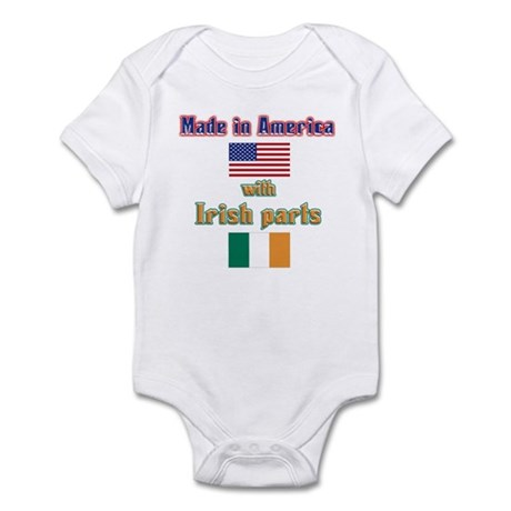 Made in American with Irish p Infant Bodysuit