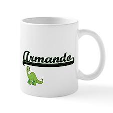 Armando Classic Name Design with Dinosaur Mugs