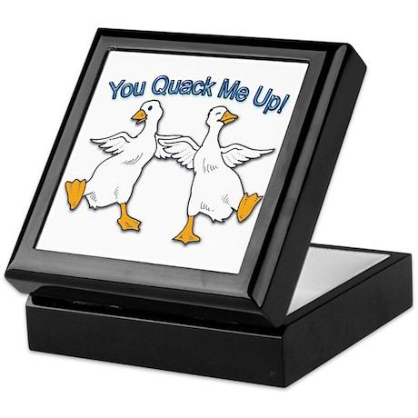 Quack Me Up Ducks Keepsake Box