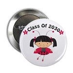 "Class of 2030 ladybug 2.25"" Button (100 pack)"