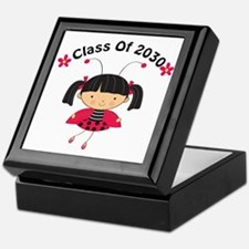 Class of 2030 ladybug Keepsake Box