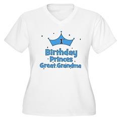 1st Birthday Princes Great Gr T-Shirt