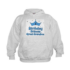 1st Birthday Princes Great Gr Hoodie