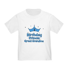 1st Birthday Princes Great Gr T