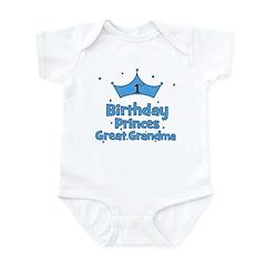 1st Birthday Princes Great Gr Infant Bodysuit