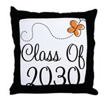 2030 School Class Throw Pillow