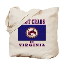 I GOT CRABS in VIRGINIA  Tote Bag