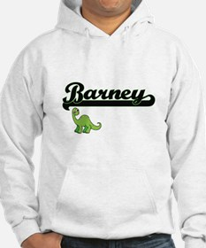 Barney Classic Name Design with Hoodie