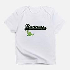 Barney Classic Name Design with Din Infant T-Shirt