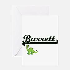 Barrett Classic Name Design with Di Greeting Cards