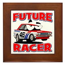 Future Racer, Kids Racing Framed Tile