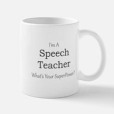 Speech Teacher Mugs
