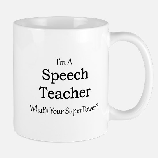 Speech Teacher Mugs