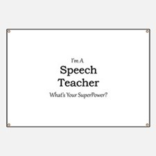 Speech Teacher Banner