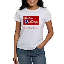 Baton Rouge LA Flag Tee