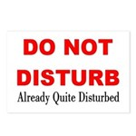 Quite Disturbed Postcards (Package of 8)