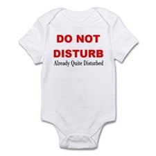 Quite Disturbed Onesie