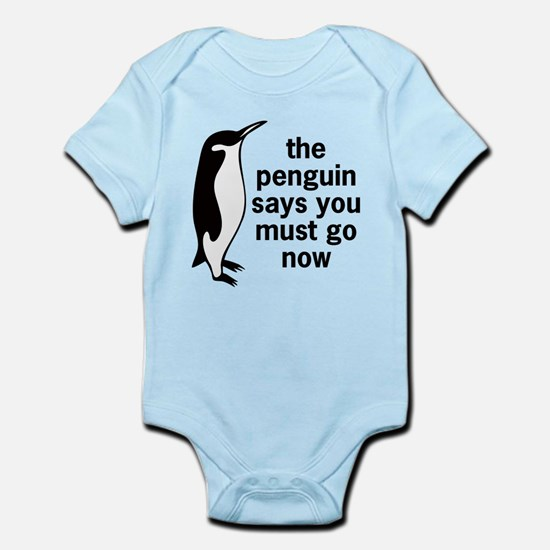 The Penguin Says Body Suit