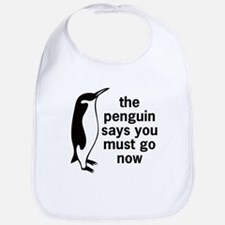 The Penguin Says Bib