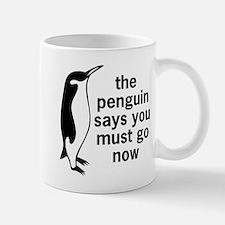 The Penguin Says Mugs