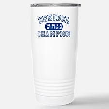 Dreidel Champion Stainless Steel Travel Mug