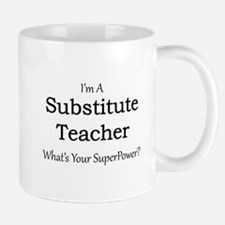 Substitute Teacher Mugs