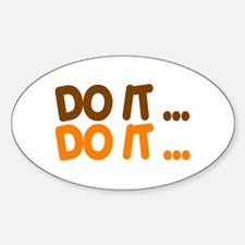DO IT... Oval Decal