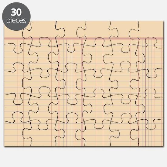 Ledger Paper Puzzle