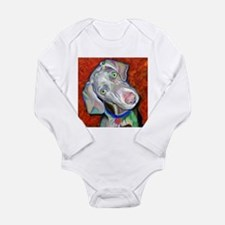 Funny Rescue animal Long Sleeve Infant Bodysuit