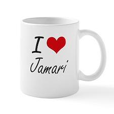 I Love Jamari Mugs