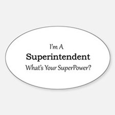Superintendent Decal