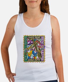 Jazz Fest New Orleans - Bourbon S Women's Tank Top