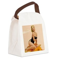 Funny Pins Canvas Lunch Bag