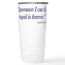 Unique Knows best Travel Mug